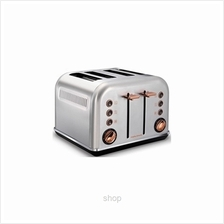 Morphy Richards Accents Rose Gold Toaster Brushed - 242105)