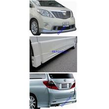 Toyota Alphard `08 ANH-20 S Version Kent Style Body Kit ABS Material