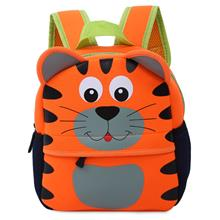 COLORFUL CARTOON ANIMAL DESIGN WATERPROOF DURABLE SCHOOL BAG FOR CHILD