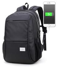 Men Oxford Laptop Backpack Bag (Design 4)