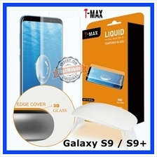 T-MAX Full Glue Adhesive UV Samsung Galaxy S9 Plus S9+ Tempered Glass