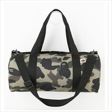 Bape Canvas Army Print Sling Duffel Bag From Japan)