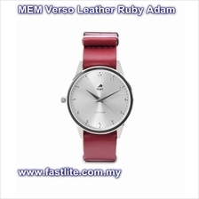 MEM Verso Leather Ruby Anti Clockwise Watch - Adam (Jam Tawaf)