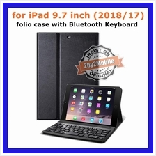 Folio case Bluetooth Keyboard detachable iPad 9.7 inch 2018 case cover