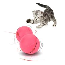 Funny Cat Pet LED Light Laser Auto Rolling Ball Exercise Toy