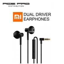 XIAOMI Mi Dual Driver Earphones - 90° plug Half In-Ear Ear phone