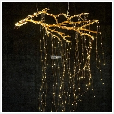 14 Branch 280 LED Starry Copper Wire String Light Tree Raya Xmas Decor