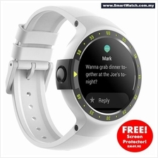 Ticwatch S Glacier, most comfortable smartwatch, 1.4 inch OLED Display