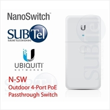 N-SW Ubiquiti Switch 4 port Gigabit Outdoor POE Switch UBNT Malaysia