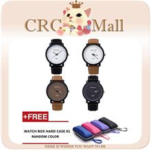 ROSIV design Fashion Leather Strap Casual Classic leather unisex watch