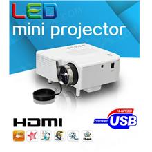 UC28+ UC30 UC40 Mini Portable LED Projector HDMI / SD / AV / VGA