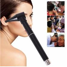 Medical Diagnostic Otoscope Ear Care Magnifying Lens LED Light Pen