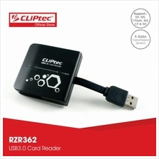 CLiPtec PANTHERA USB 3.0 Card Reader RZR362)