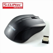 CLiPtec TRAX 2.4GHz 1200 DPI Wireless Optical Mouse RZS846)