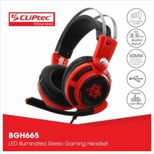CLiPtec STEGERIOUS LED Illuminated Stereo Gaming Headset BGH665)