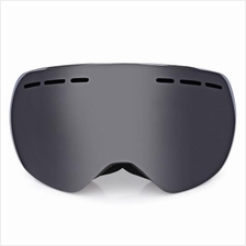 BF015 MOTORCYCLE GOGGLES FOR SKIING CLIMBING DOUBLE LENSES (BLACK)