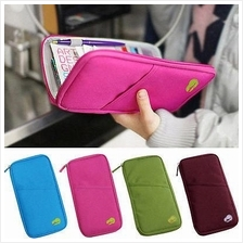 Hand Travel Organizer Passport Pouch Card Purse - 6 colors