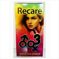 Toys Recare Super Thin Condom 12s Man Sex Play