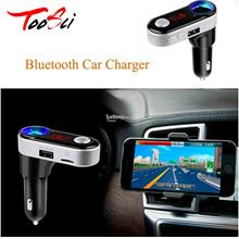 Car Wireless In-Car Bluetooth Receiver USB Car Charger and Hands-Free