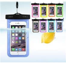 6 Inch Swimming IPX8 Waterproof Phone Dry Bag Case Cover