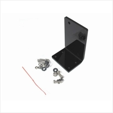 # XSPC Acrylic L Stand for Laing DDC (Black) #