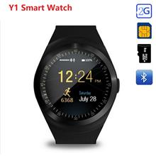 Y1 Acitivity Tracker Camera Bluetooth Smart Watch Support Nano SIM Car