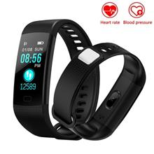 Y5 Heart Rate Monitor Blood Pressure Color Screen Bluetooth Smart Band
