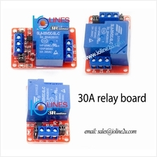 1 Channel 5V High/Low level trigger 30A Relay board Opto PLC Arduino