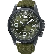 SEIKO . SRPC33K1 . Prospex . M . Date . NSB . Automatic . Olive Green