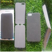 IPhone 5 / iphone 5s  Rock thin leather Top down flip cover