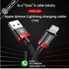 Baseus USB 1m Lightning Charger Charging cable cord Apple iPhone X iPh