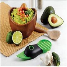 3-in-1 Avocado Slicer Peeler Skinner Multi-functional Fruit Cutter Cor