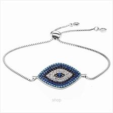 Kelvin Gems Luna Eyes Adjustable Chain Bracelet)
