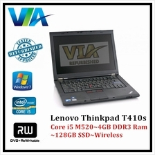 Refurb Lenovo ThinkPad T410s Core i5~4Gb~128GbSSD~W7 Pro