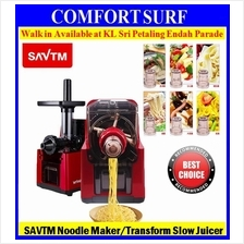 SAVTM Multifunction Automatic Noodle Pasta Maker & Slow Juicer