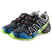 OUTDOOR CASUAL COLOR BLOCK SLIP RESISTANCE MALE SPORTS SHOES (WHITE AN)