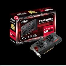 # ASUS EX-RX570-O4G EXPEDITION RX 570 OC # 1266 MHz | 4GD5