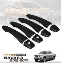 Nissan Navara NP300 Matte Black Door Handle Cover ABS
