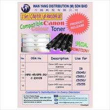CANON NPG 45/ GPR 30 Compatible CMYK/COLOR  Copier Toner Cartridge