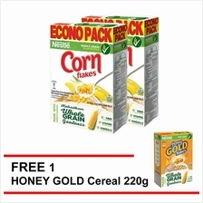 NESTLE CornFlakes Cereal 500g , Buy 2 F.O.C. 1 Honey Gold 220g)