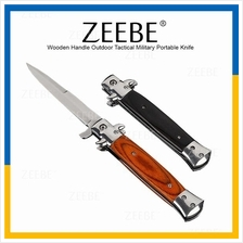 ZEEBE Outdoor Tactical Military Knife Spring Assisted Knife Knives 06