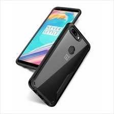 VISEAON Oneplus 5T Soft TPU + Crystal Clear Back Case Cover Casing