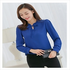Korean-style Fashionable Chiffon Long Sleeve ( M Size)