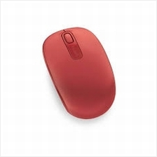MICROSOFT MOBILE 1850 WIRELESS MOUSE (U7Z-00035)FLAME RED