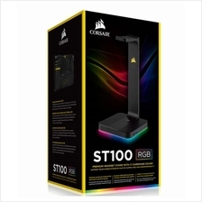 CORSAIR ST100 RGB HEADPHONE STAND WITH 7.1 SURROUND SOUND (CA-9011167-