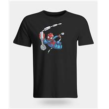 Spiderman Swinging LEGO T-Shirt