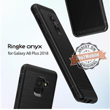 Original Ringke Onyx TPU Defensive Galaxy A8 / A8 Plus 2018 case cover