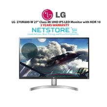 LG 27UK600-W 27' Class 4K UHD IPS LED Monitor with HDR 10
