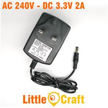 AC 100-240V To DC 3.3V 2A Adapter