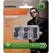 Comply Isolation Foam Earphone Tips T-200 / T200 3 Pair